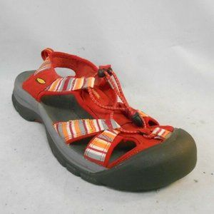 Keen Venice Red Stripe Sport Sandals Water Shoes